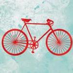 Bicycle print - 5 x 7 - mod..